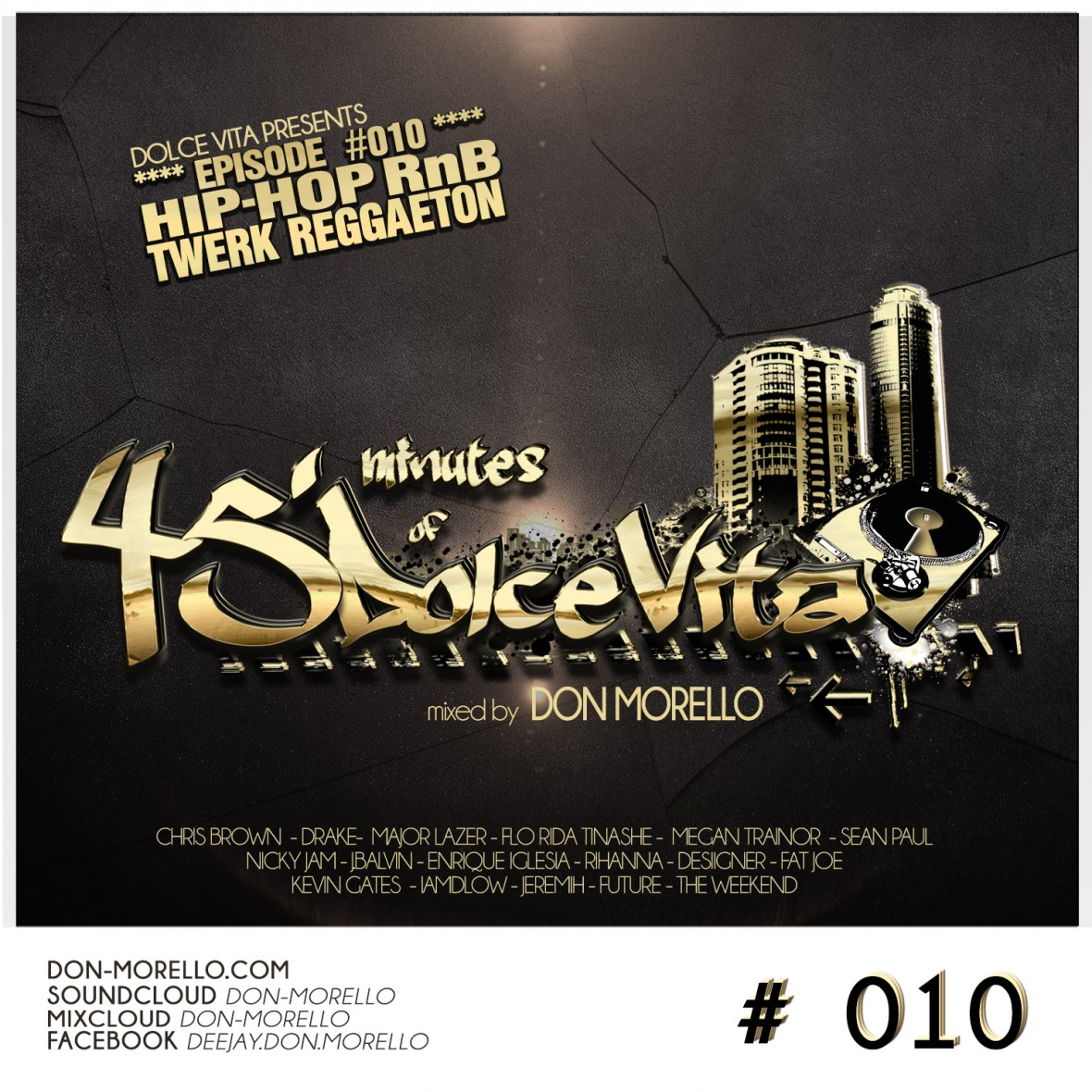 45'minutes of Dolce Vita #010 mixed by Don Morello