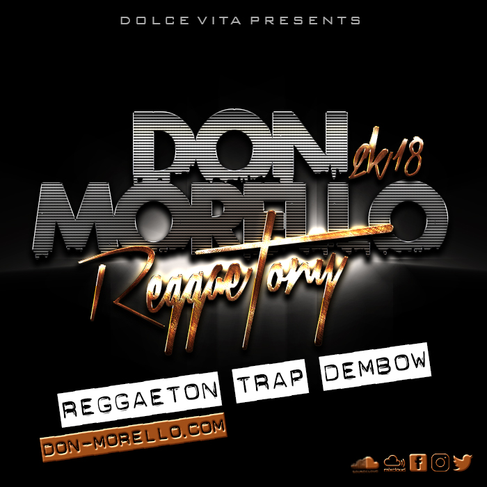 Reggaetony 2K18 Live Mix by Don Morello